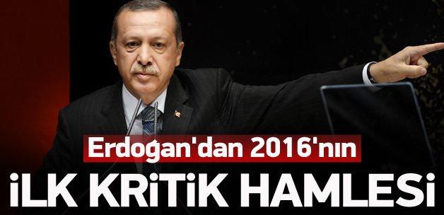 Erdoğan'dan 2016'nın ilk kritik hamlesi
