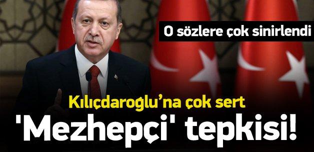 Erdoğan'dan Kılıçdaroğlu'na 'Mezhepçi' tepkisi