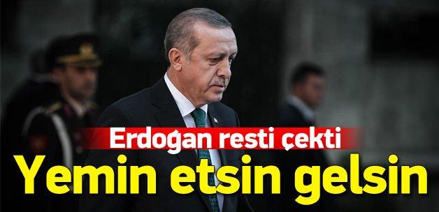 Erdoğan'dan Leyla Zana'ya yemin şartı