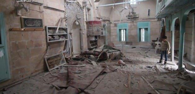 Esed Osmanlı Camisini bombaladı