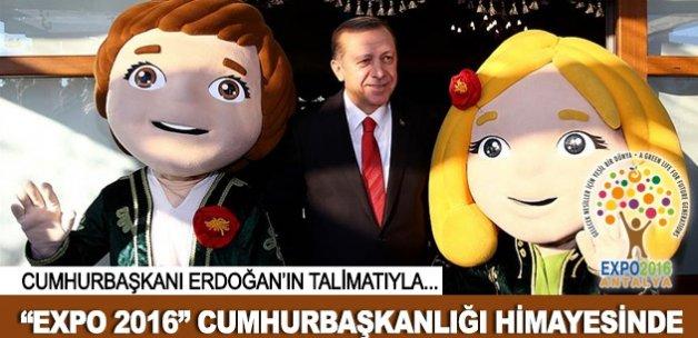 EXPO 2016 Antalya Cumhurbaşkanlığı himayesinde