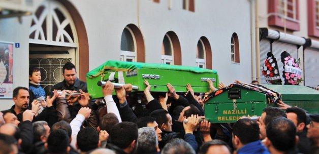 Feci kazada ölenler Nazilli'de defnedildi