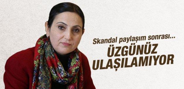 Figen Yüksekdağ'dan skandal paylaşım