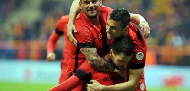 Galatasaray 3 Gaziantepspor 0