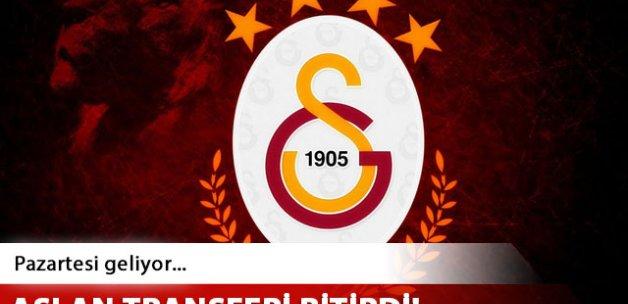 Galatasaray Linnes'in transferini bitirdi