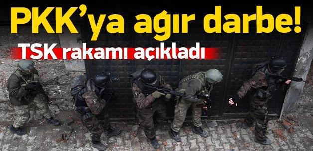 Genelkurmay'dan açıklama, 16 terörist öldürüldü