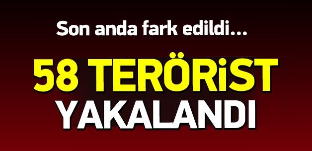 Genelkurmay: Silopi'de 58 terörist yakalandı