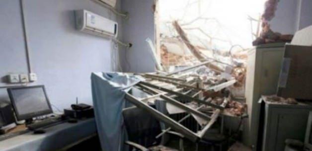 Hasta ve doktorlar içindeyken hastane yıkıldı