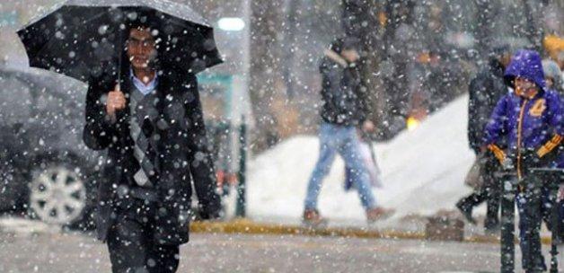 Hava durumu 11 ile yoğun kar yağışı uyarısı!