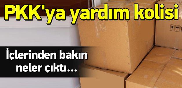 HDP'den PKK'ya yardım kolisi!