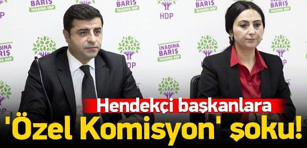 HDP dosyalarına özel komisyon
