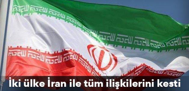 İki ülke İran ile tüm ilişkilerini kesti