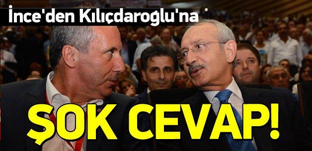 İnce, Kılıçdaroğlu'nun teklifini reddetti