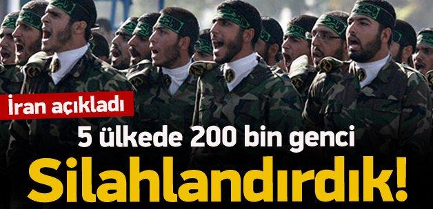 İran 5 ülkede 200 bin genci silahlandırdı