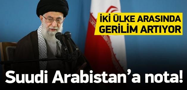 İran'dan Suudi Arabistan'a nota
