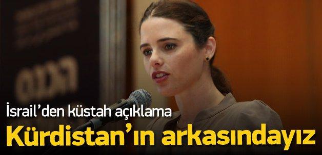 """İsrail: """"Bağımsız Kürdistan'ın arkasındayız"""""""