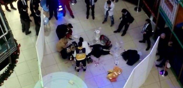 İstanbul'da AVM'de şok ölüm!