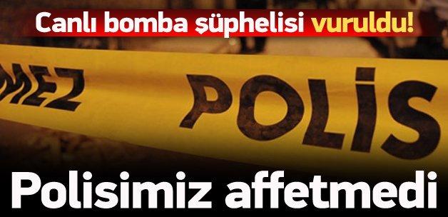 İstanbul'da canlı bomba şüphelisi vuruldu