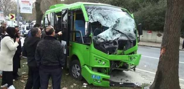 İstanbul'da minibüs kazası! Ölü ve yaralılar var