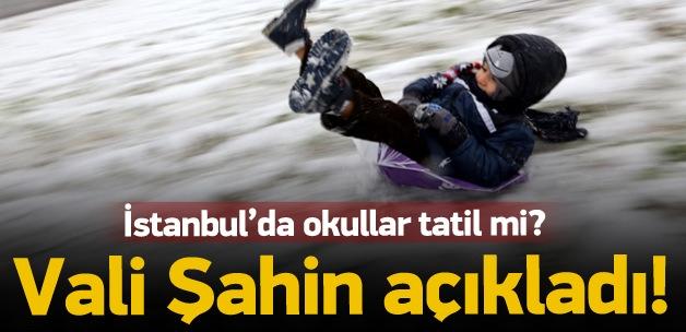 İstanbul'da okullar tatil mi? Açıklama geldi