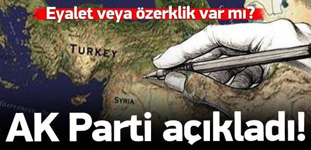 İşte AK Parti'nin başkanlık önerisi