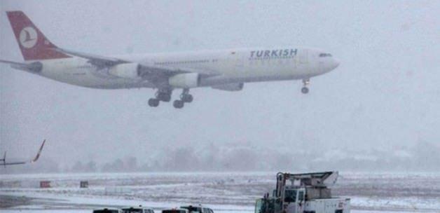 Kar nedeniyle 435 sefer iptal edildi