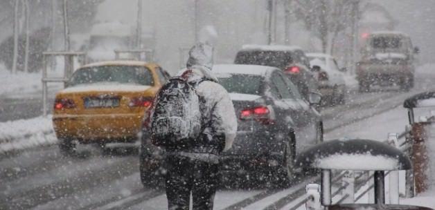 Kar yağışı yeniden başladı!