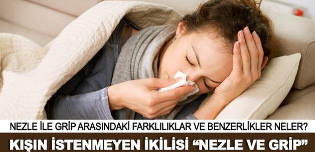 Kış Mevsiminin İstenmeyen İkilisi: Nezle ve Grip