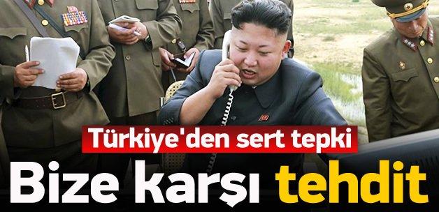 Kore'ye sert tepki: Türkiye tehdit oluşturuyor..