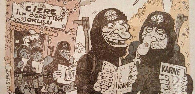 Leman'dan skandal 'Cizre' karikatürü!