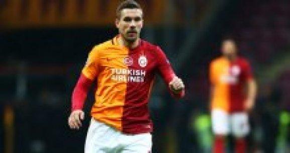Lukas Podolski'nin keyfi kaçtı