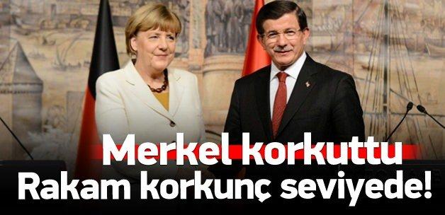 Merkel: Rakam korkunç seviyede