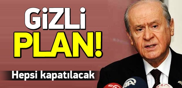 MHP'de muhaliflere karşı gizli plan!
