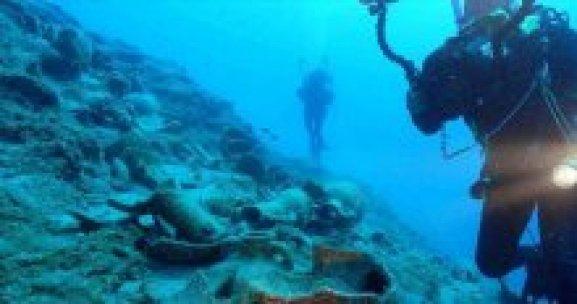 Muğla'da 4 bin yıllık gemi batığı bulundu