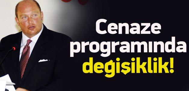 Mustafa Koç'un cenaze programında değişiklik