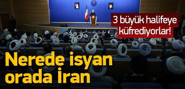 Nerede isyan orada İran!