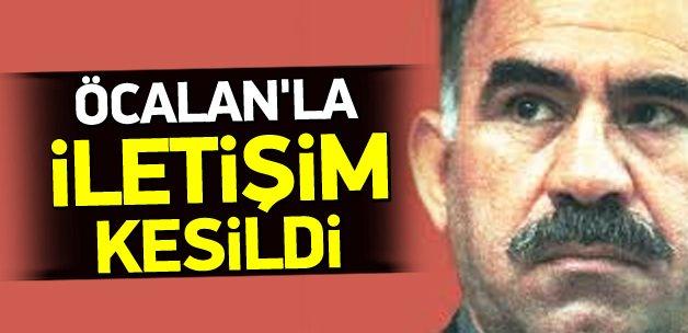 Öcalan'la dolaylı iletişim kesildi