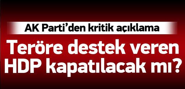 Ömer Çelik: Teröre destek veren parti kapanır
