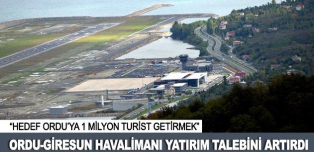 Ordu- Giresun Havalimanı Karadeniz'e yatırım talebini artırdı