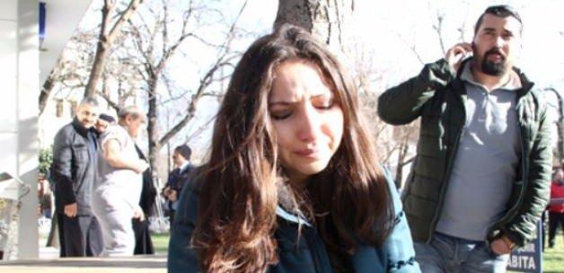 Patlamadan kıl payı kurtulan kadın konuştu