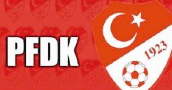 PFDK'dan Galatasaray'a ceza