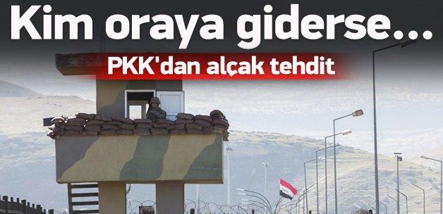 PKK'dan alçak tehdit: Oray kim giderse...