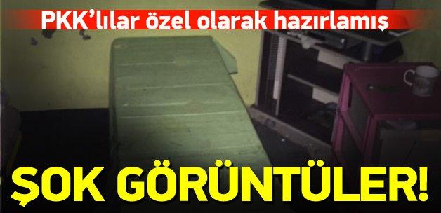 PKK'nın hücre hastanesi ortaya çıktı