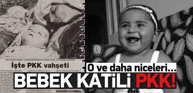 PKK'NIN KATLETTİĞİ BEBEKLER !