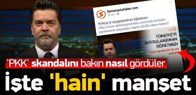 PKK propagandasına 'cemaat' medyasından destek