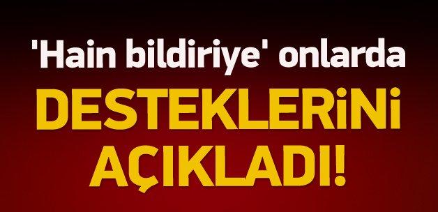PKK sever akademisyenlere bir destek daha!