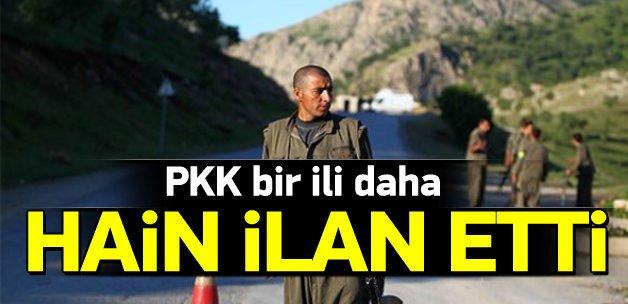 PKK, Siirt'i de hain ilan etti
