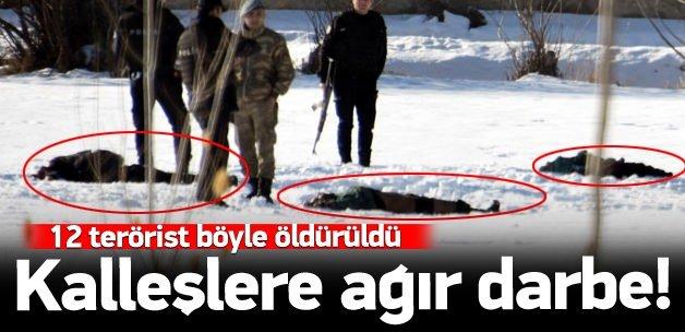 PKK'ya ağır darbe: İşte ilk görüntüler!