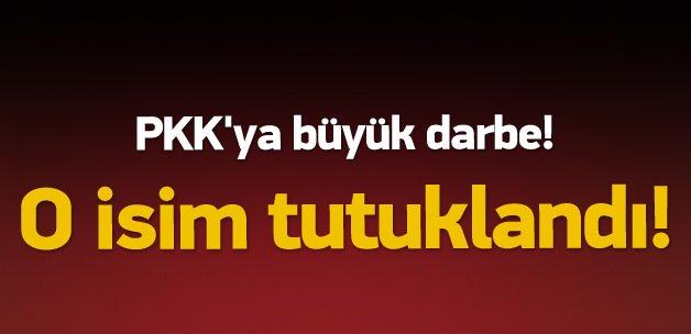 PKK'ya büyük darbe! O isim tutuklandı!