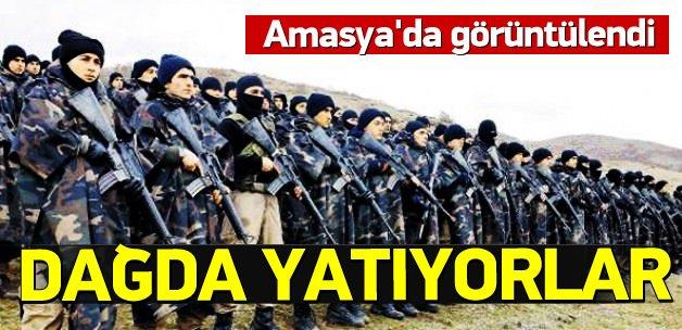 PKK'ya karşı Tavşan Dağı'nda özel eğitim